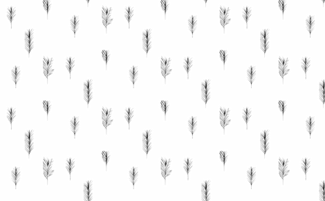 feather-ed fabric by thecrazyartisan on Spoonflower - custom fabric