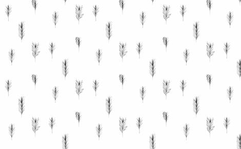feather-ed fabric by thecrazyartisan on Spoonflower - custom fabric