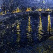 van Gogh - Starry Night Over the Rhone (1888)