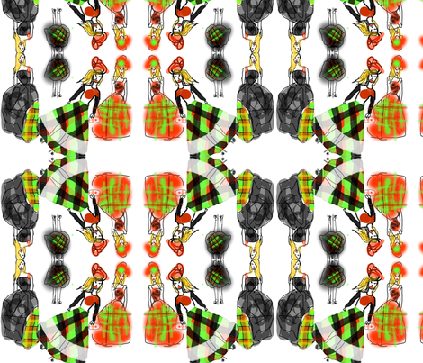 tartan fabric by daisymoss-faull on Spoonflower - custom fabric