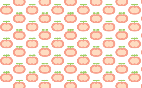 apple pink fabric by myracle on Spoonflower - custom fabric