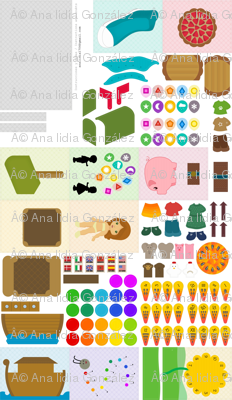 Analinea Quiet Book - cut&sew