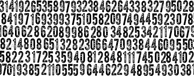 Random Number Generator (Black on White)