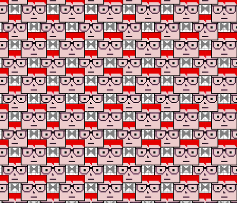 Geek Chic 1 fabric by patternjots on Spoonflower - custom fabric