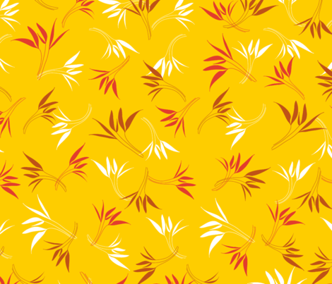 Hyacinthe 8med fabric by motifs_et_cie on Spoonflower - custom fabric