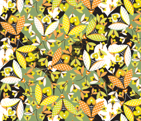 Hedge Glow fabric by paula's_designs on Spoonflower - custom fabric