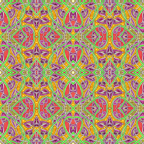 Tangled Like a Celtic Knot, but not fabric by edsel2084 on Spoonflower - custom fabric