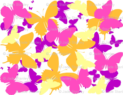 Layered Butterflies