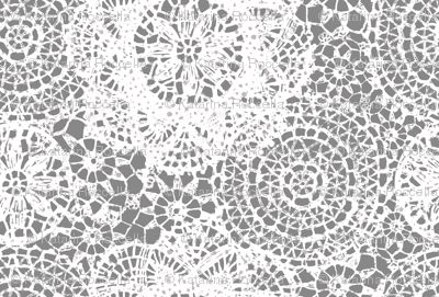 doilies lighter grey