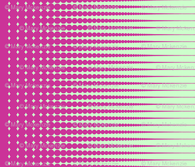 "Sherbet Halftone (42"" wide fabric)"