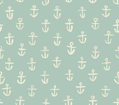 Aqua Anchors- tiny scale