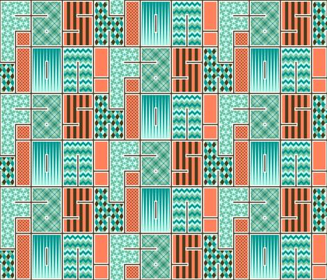 fashion fabrics fabric by sef on Spoonflower - custom fabric