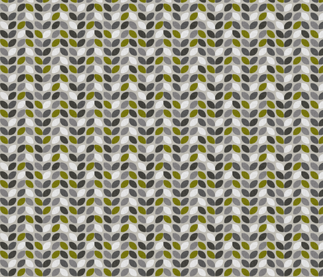 FOREST_DRIVE_IVY fabric by glorydaze on Spoonflower - custom fabric