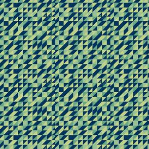 Retro Triangular Pattern
