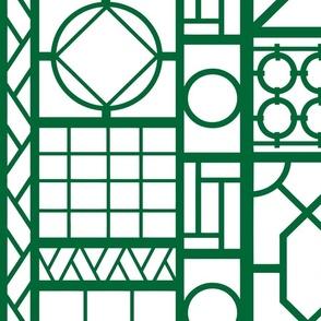 trellis_in_emerald green