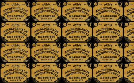 Vintage_Ouija fabric by cindersonfiber on Spoonflower - custom fabric