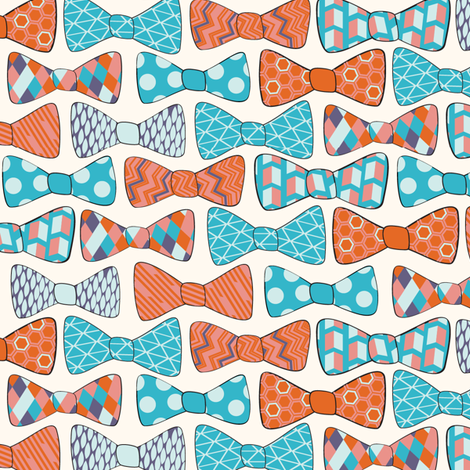 Fashionable Bows fabric by wildnotions on Spoonflower - custom fabric