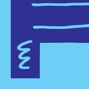Blue Robot Monster