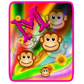 Makayla's Monkeys Decal