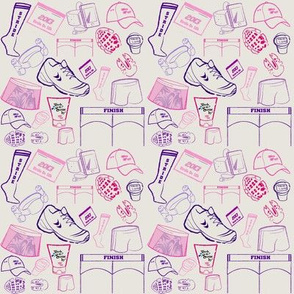 Running Motivation - Pinks & Purples