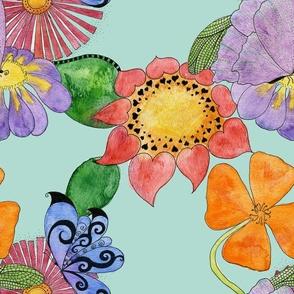 flowerButterflyGiftWrap02