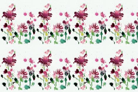 cestlaviv_POPPIES_36 lampshade fabric by cest_la_viv on Spoonflower - custom fabric