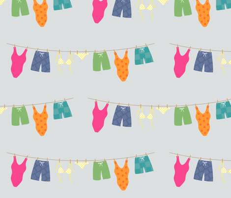 Summer_Suits fabric by annbythesea on Spoonflower - custom fabric