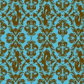 Mermdamaskbluebrown_shop_thumb