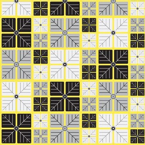 Hydrangea Print - Yellow
