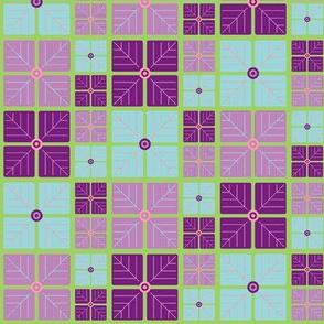 Hydrangea Print - Purple
