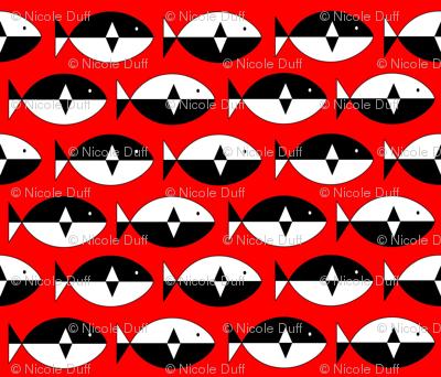 Norwegian Fish Red