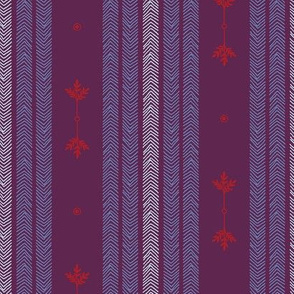 Expedition - Stripes Plum