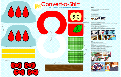 Convert-a-Shirt fabric by kfay on Spoonflower - custom fabric