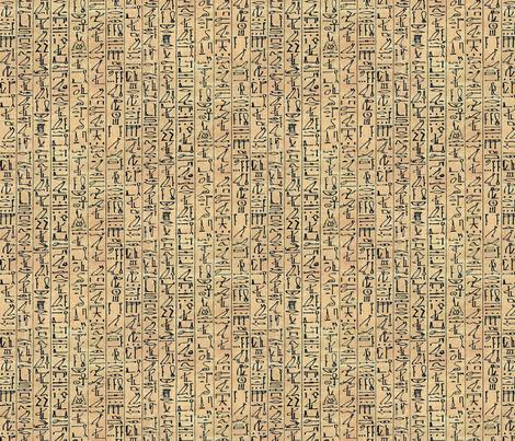 Hieroglyphics Papyrus
