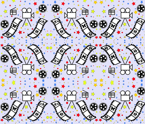 LightsCameraAction fabric by votedmostoriginal on Spoonflower - custom fabric