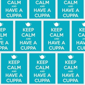 Keep Calm Have a Cuppa - panel