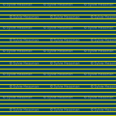 Pin Stripe Yellow n Blue