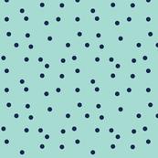 Scattered Polka Dots