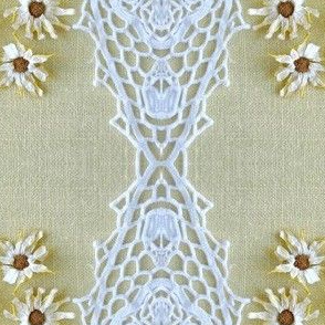 Turkish Lace and Daisies