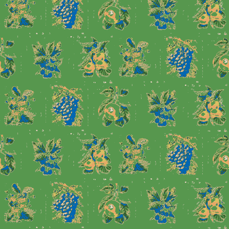 Harvest Green fabric by amyvail on Spoonflower - custom fabric