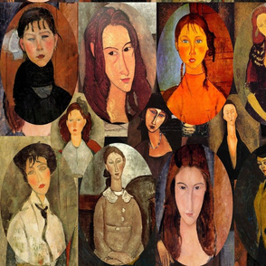 The Many Faces of Modigliani