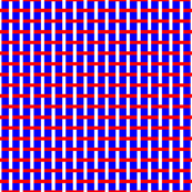 Red White Blue Lattice