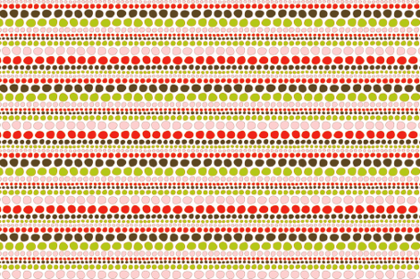 Splodges Coral fabric by designedtoat on Spoonflower - custom fabric