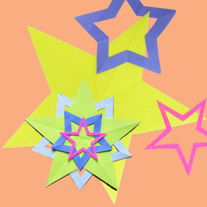 Paper 5 pointed stars