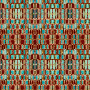 Mosaic skyscraper