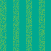 ammonite stripes - lime on aqua