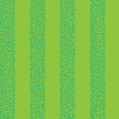 ammonite stripes - aqua on lime