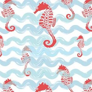 Beachy Seahorses