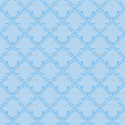 abstract light blue