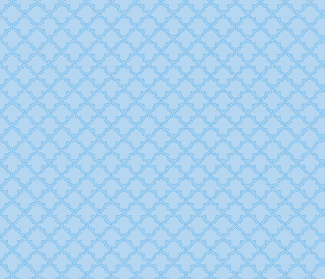 abstract light blue fabric by suziedesign on Spoonflower - custom fabric